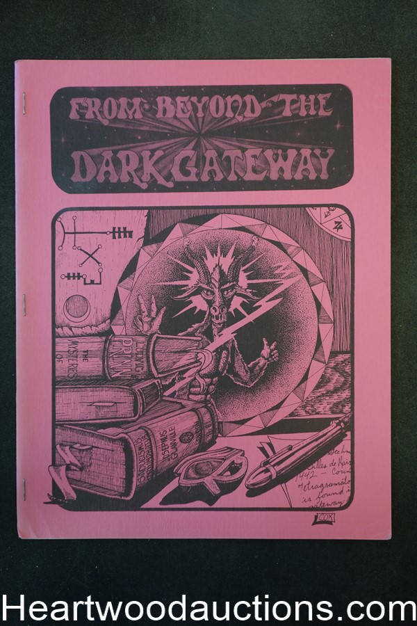 From Beyond the Dark Gateway Vol. 1 #4 1977 (Limited) - High Grade