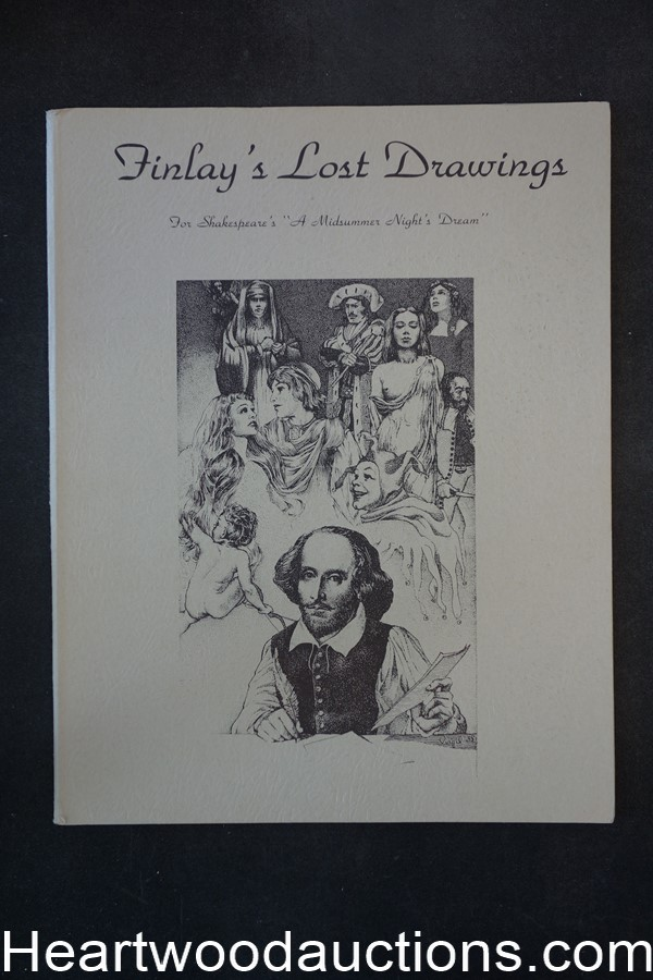 Finlay's Lost Drawings by Virgil  Finlay (Limited) 1975