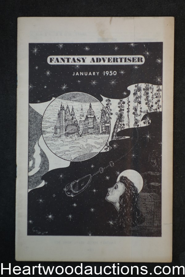 Fantasy Advertiser Vol. 3 #6 Lin Carter- Lord Dunsany Tribute, January 1950
