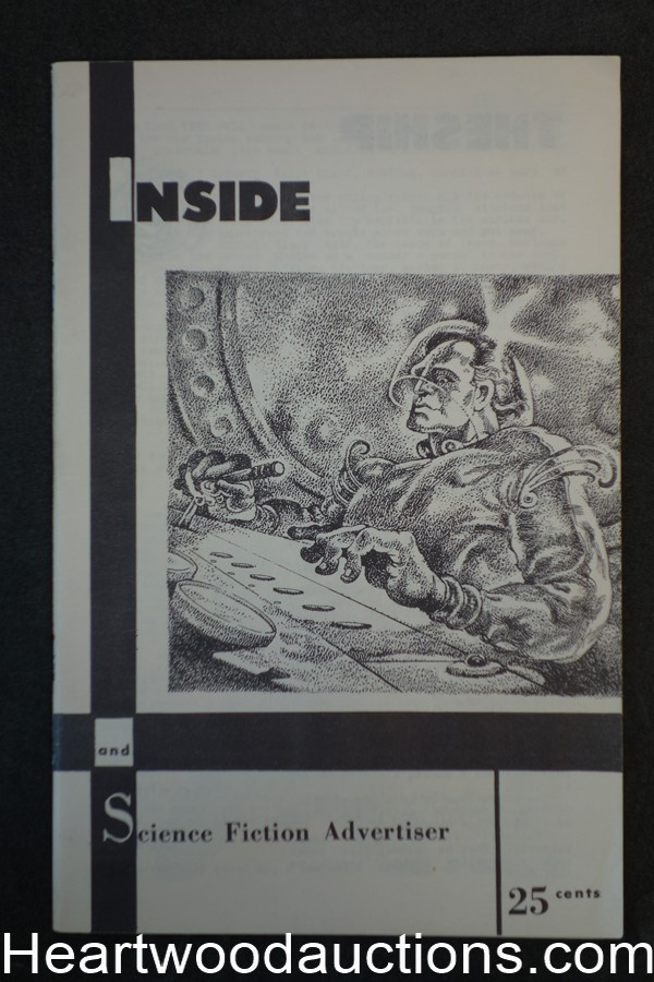 Inside and Science Fiction Advertiser #8 William F. Nolan March 1955