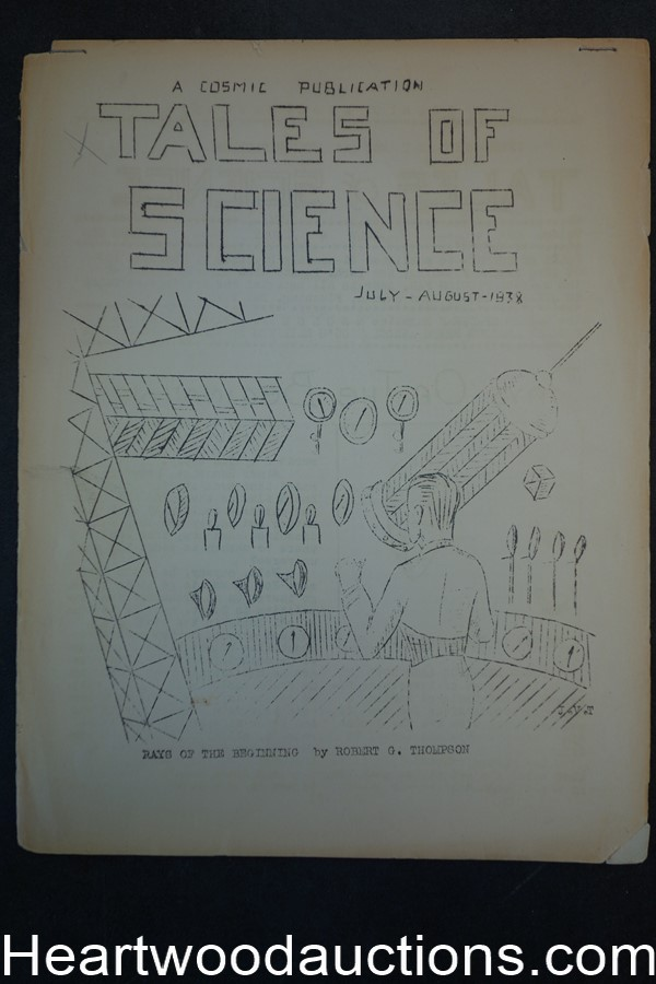 Tales of Science Vol. 1 #1 July & August 1938