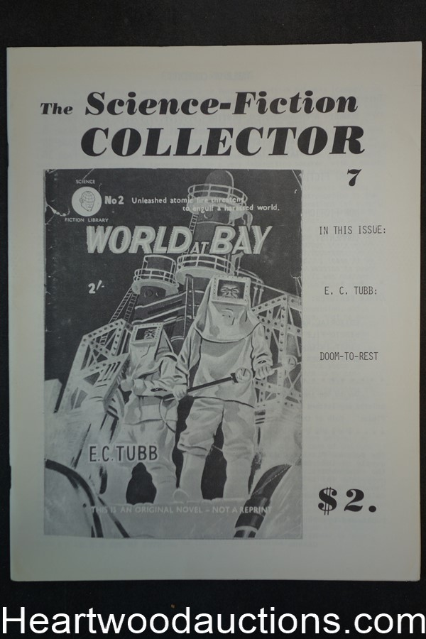 The Science-Fiction Collector Issue #7 July 1979