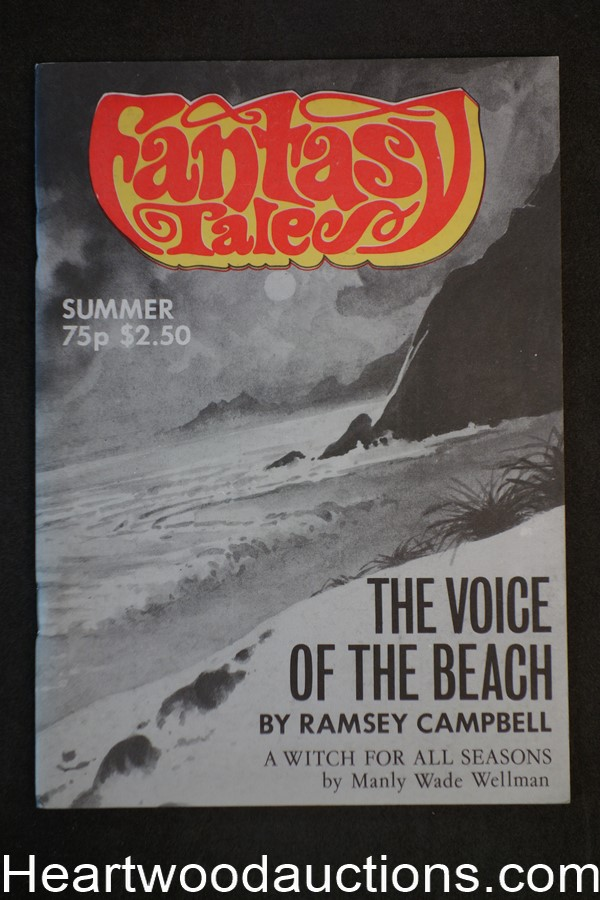 Fantasy Tales Vol. 5 #10, Ramsey Campbell; Manly Wade Wellman, 1982- High Grade