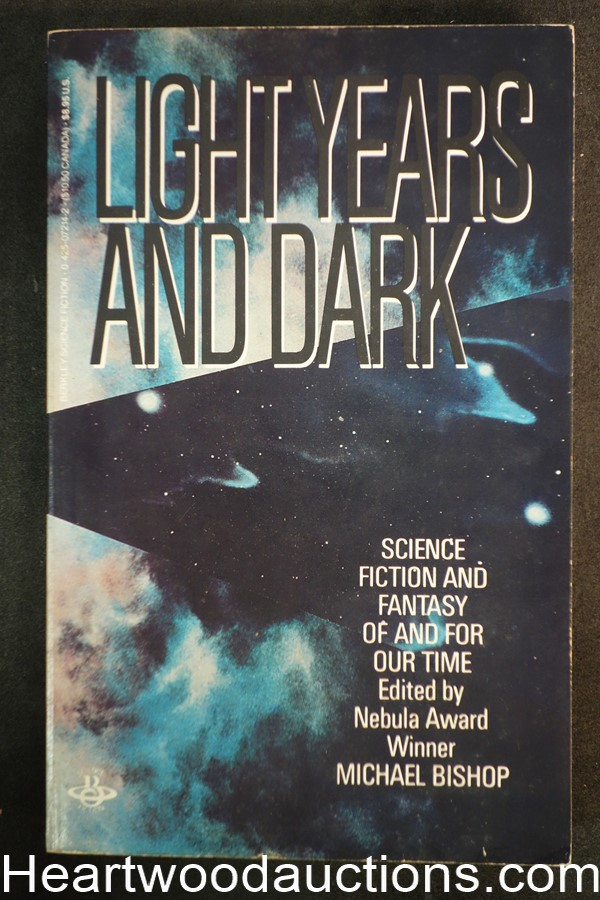 Light Years and Dark by Michael Bishop (1984) 1st edition