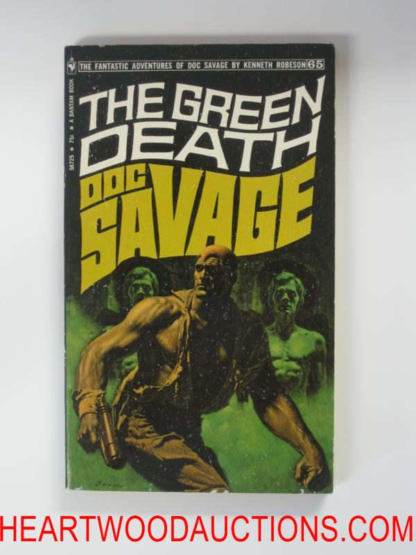 Doc Savage 65 The Green Death