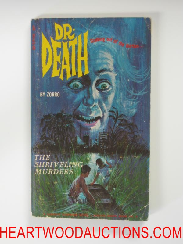 Doctor Death 3  Bonfils Cvr The Shriveling Murders