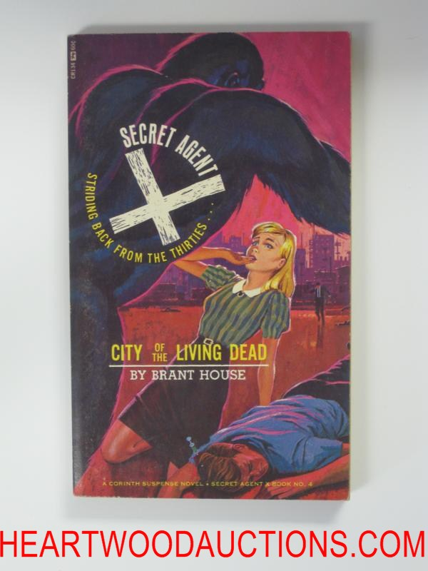 Secret Agent X 4  Bonfils Cvr City of the Living Dead
