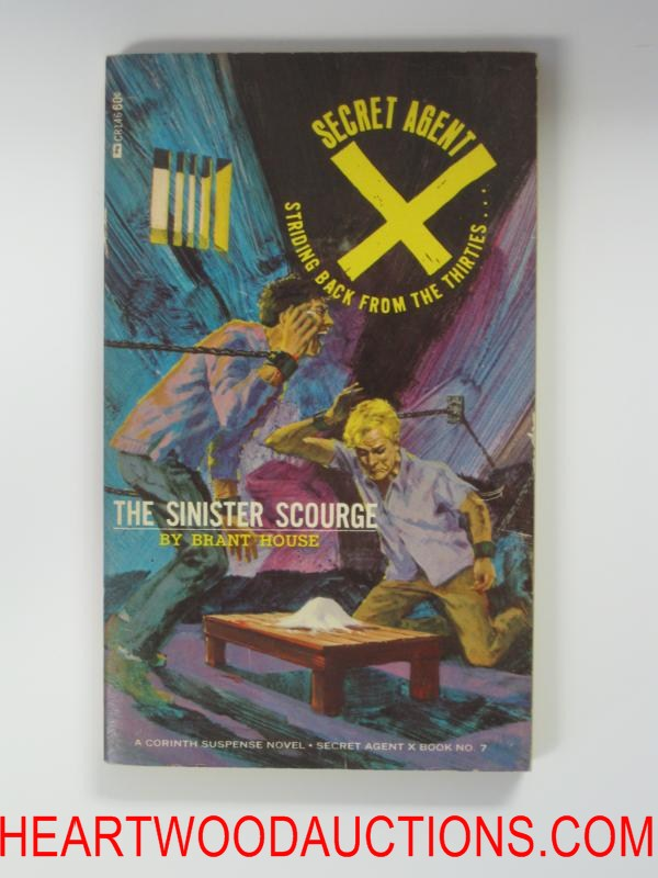Secret Agent X 7  Bonfils Cvr The Sinister Scourge