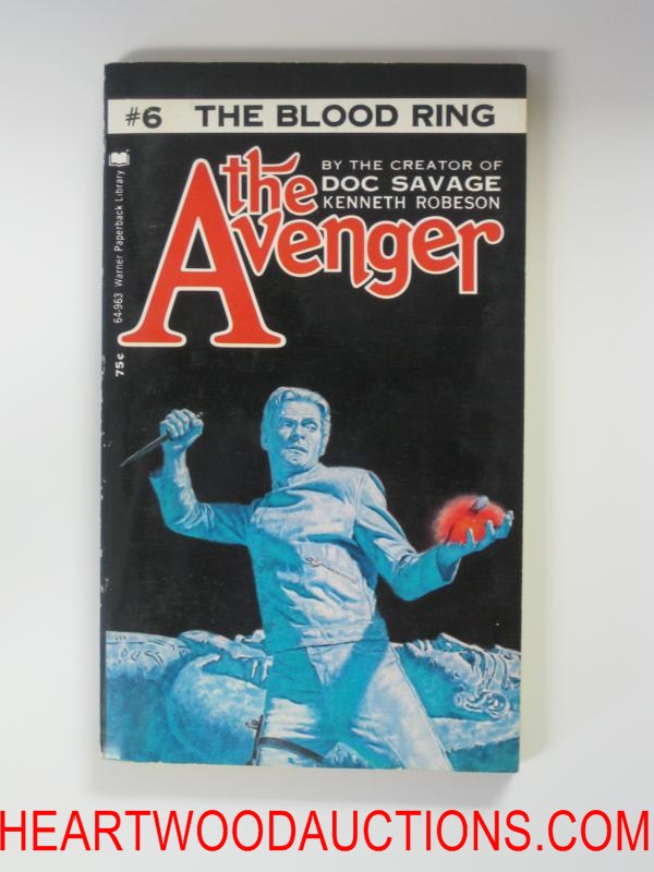 The Avenger 6 The Blood Ring