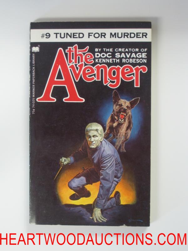 The Avenger 9 George Gross Cvr Tuned For Murder