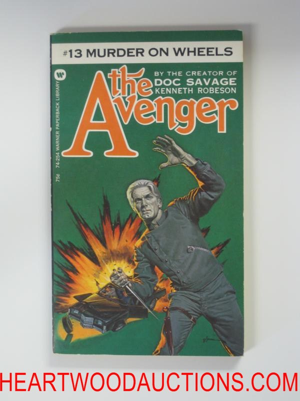 The Avenger 13 George Gross Cvr Murder on Wheels