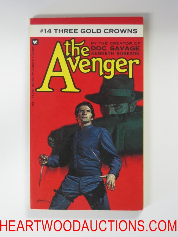 The Avenger 14 George Gross Cvr Three Gold Crowns