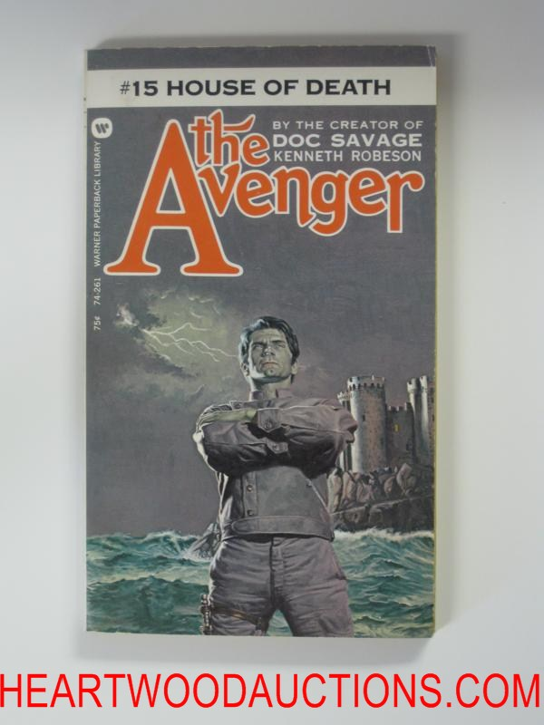 The Avenger 15 George Gross Cvr House of Death