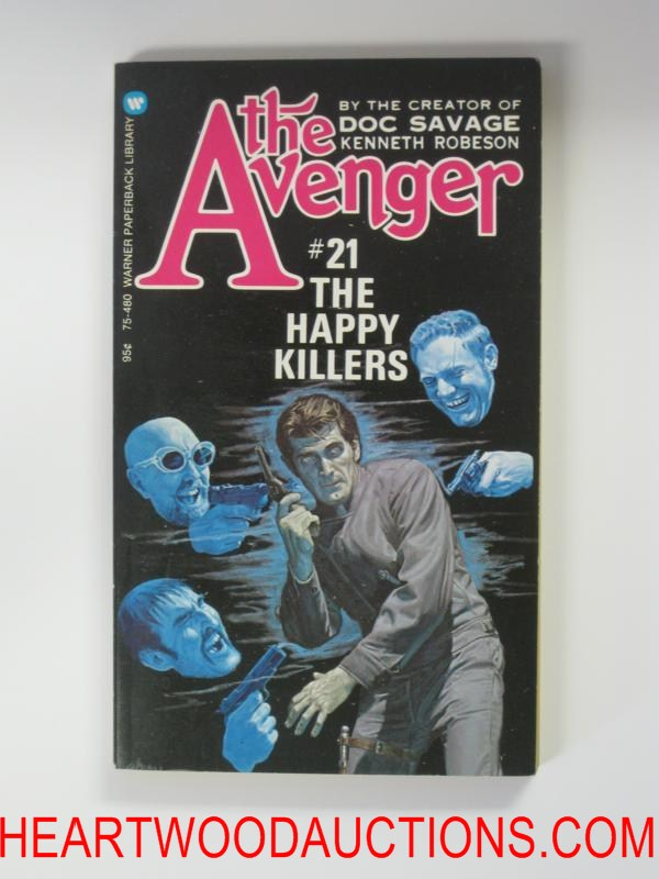 The Avenger 21 George Gross Cvr The Happy Killers