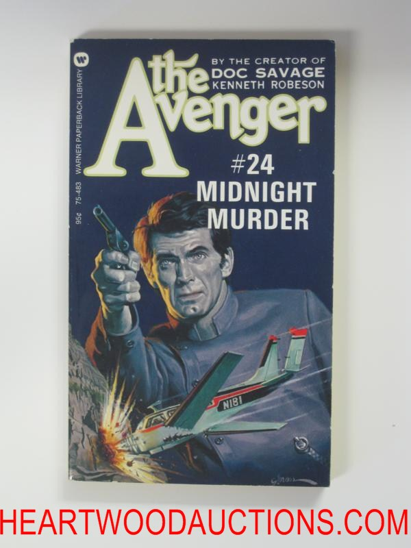 The Avenger 24 George Gross Cvr Midnight Murder