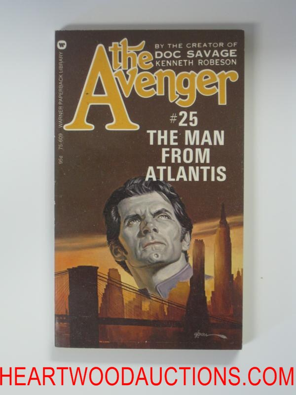 The Avenger 25 George Gross Cvr The Man from Atlantis