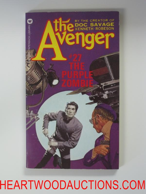 The Avenger 27 George Gross Cvr The Purple Zombie