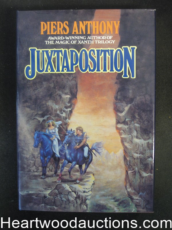 Juxtaposition by Piers Anthony- High Grade