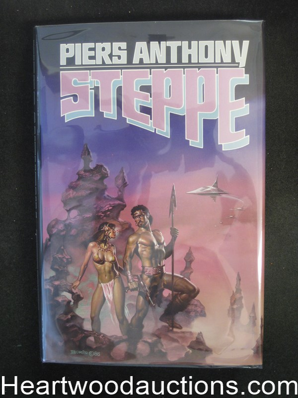 Steppe by Piers Anthony- High Grade