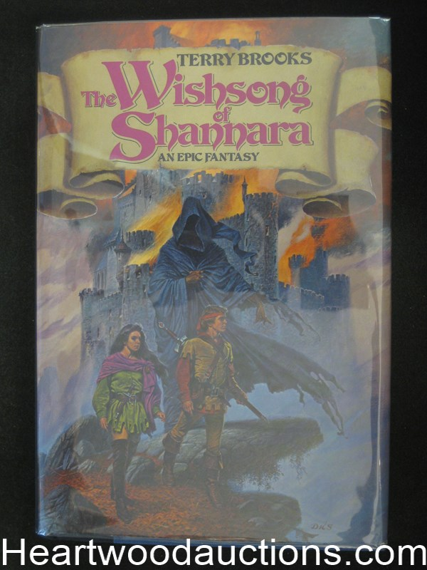 The Wishsong of Shannara by Terry Brooks- High Grade