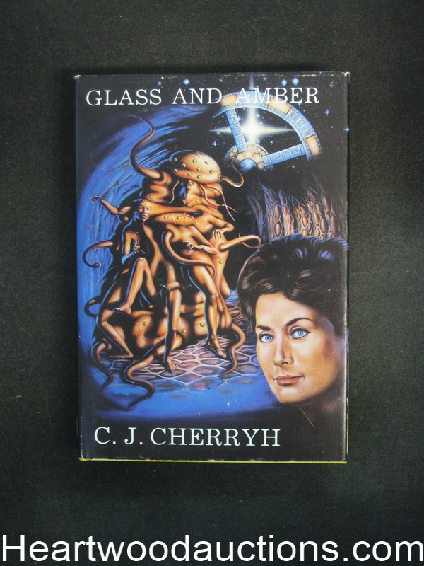 Glass and Amber by C.J. Cherryh. Limited Edition- High Grade