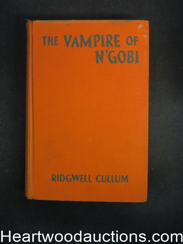 The Vampire of N'Gobi by Ridgewell Cullum