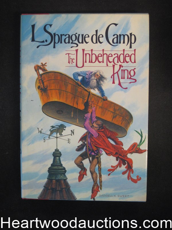 The Unbeheaded King by L. Sprague de Camp- High Grade
