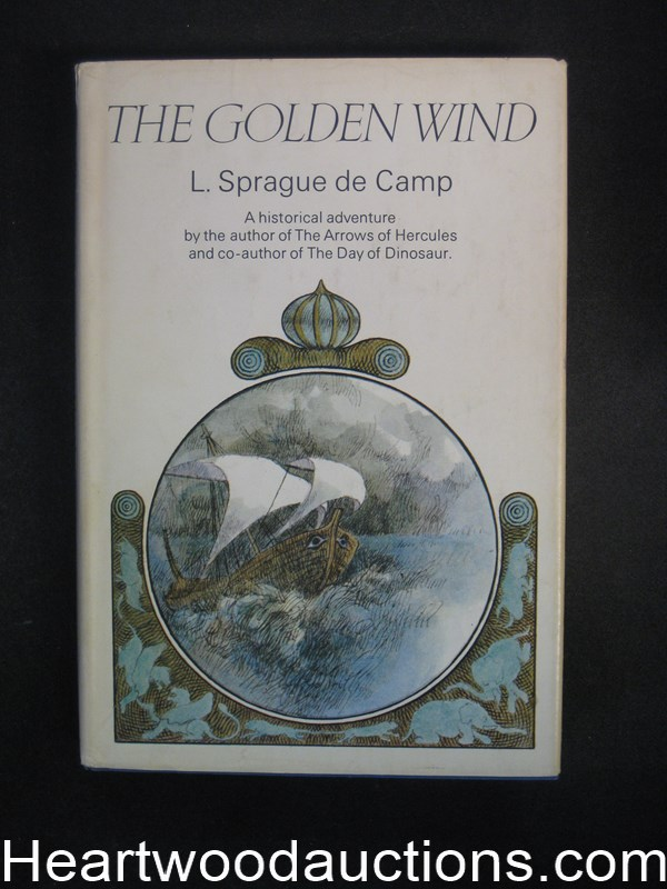 The Golden Wind by L. Sprague de Camp Signed and inscribed