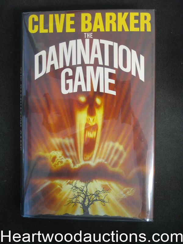 The Damnation Game by Clive  Barker- High Grade