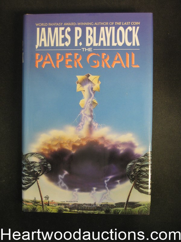 The Paper Grail by James P. Blaylock