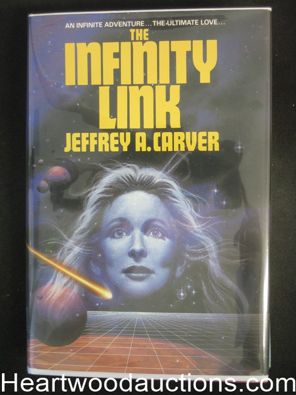 The Infinity Link by Jeffrey A. Carver- High Grade