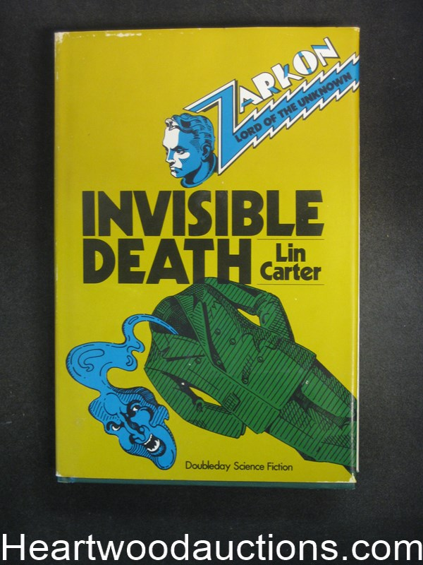 Invisible Death by Lin Carter