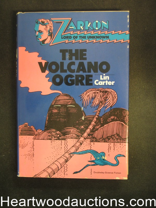The Volcano Ogre by Lin Carter