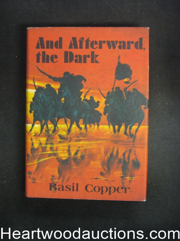 And Afterward, the Dark by Basil Cooper- High Grade