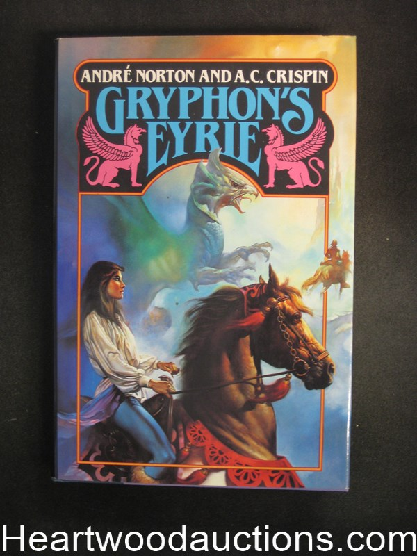 Gryphon's Eyrie by A.C. Crispin Vallejo Cover