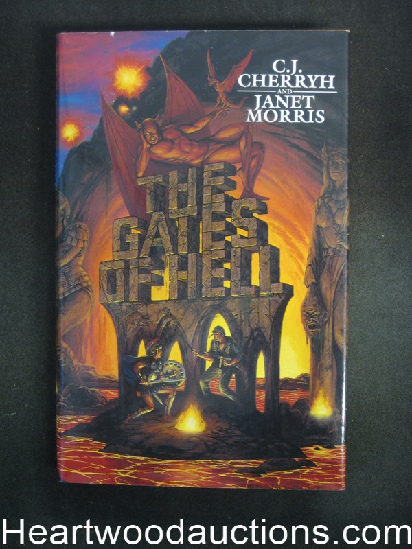 The Gates of Hell by C.J. Cherryh- High Grade