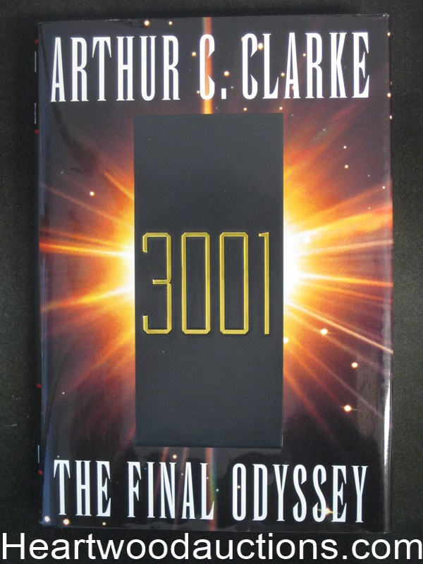 3001 The Final Odyssey by Arthur C. Clarke- High Grade