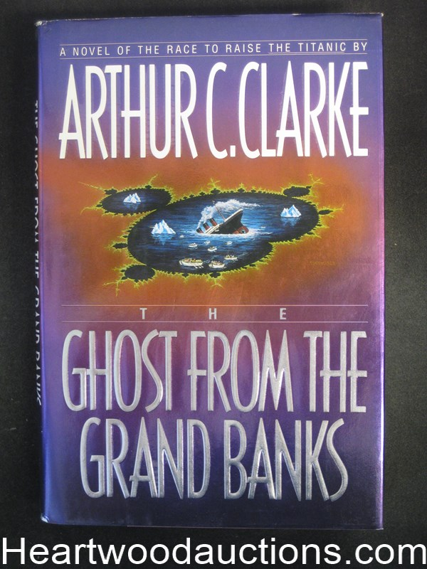 Ghost From the Grand Banks by Arthur C. Clarke- High Grade