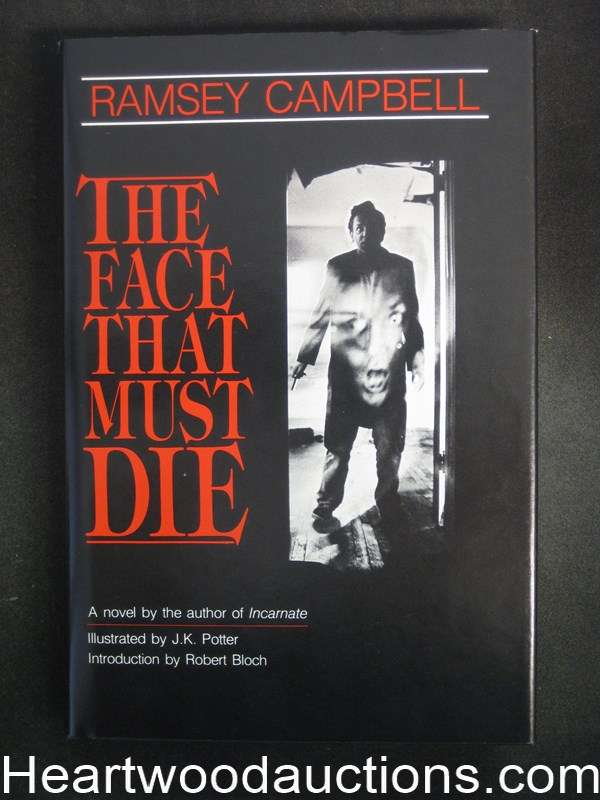 The Face That Must Die by Ramsey Campbell Limited Edition Unread