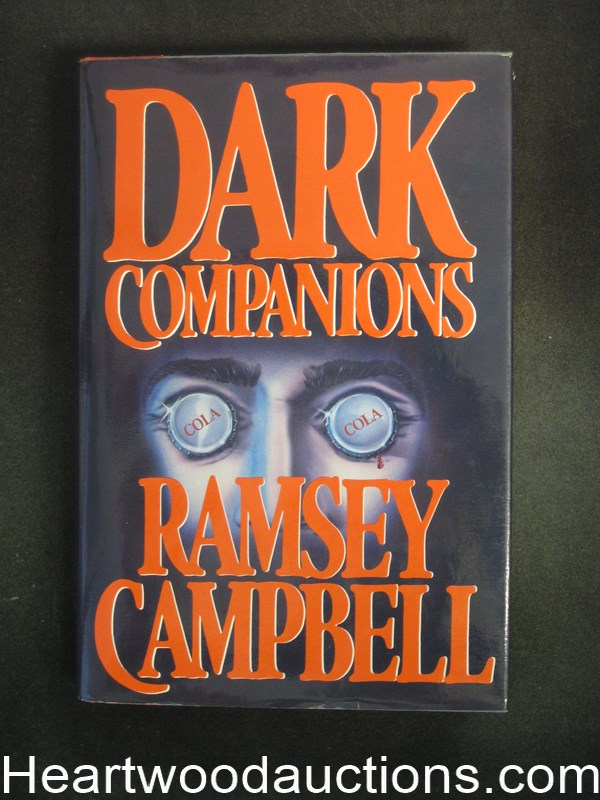 Dark Companions by Ramsey Campbell- High Grade