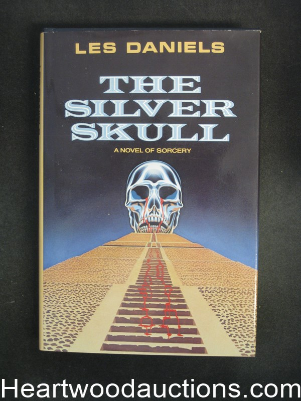 The Silver Skull by Les Daniels Signed