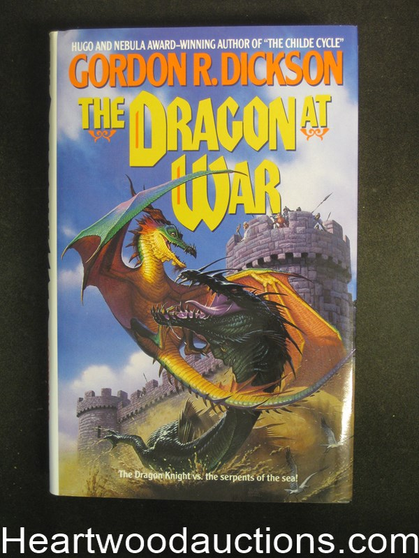 The Dragon at War by Gordon R. Dickson Unread Copy- High Grade