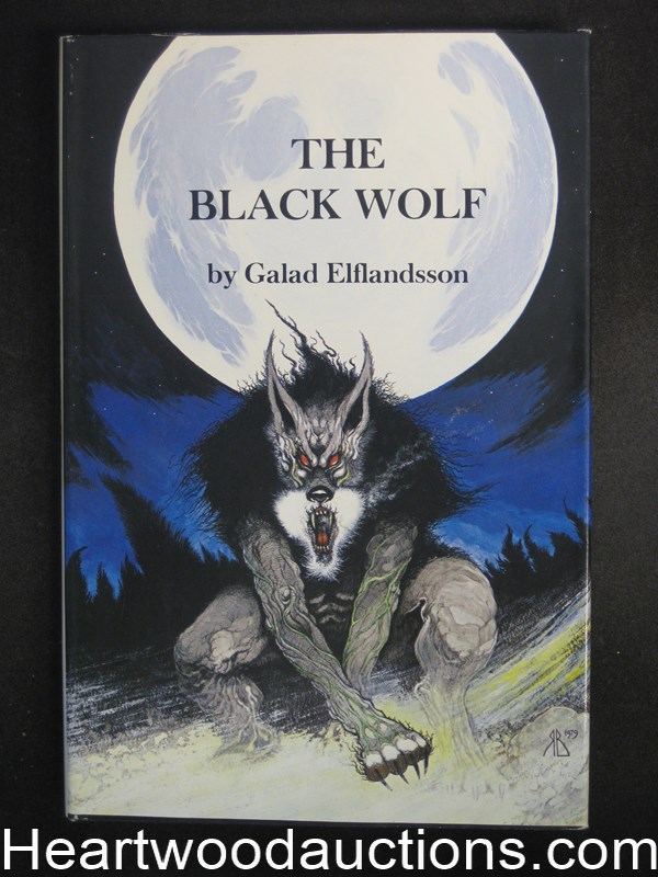 The Black Wolf by Galas Elflandsson- High Grade