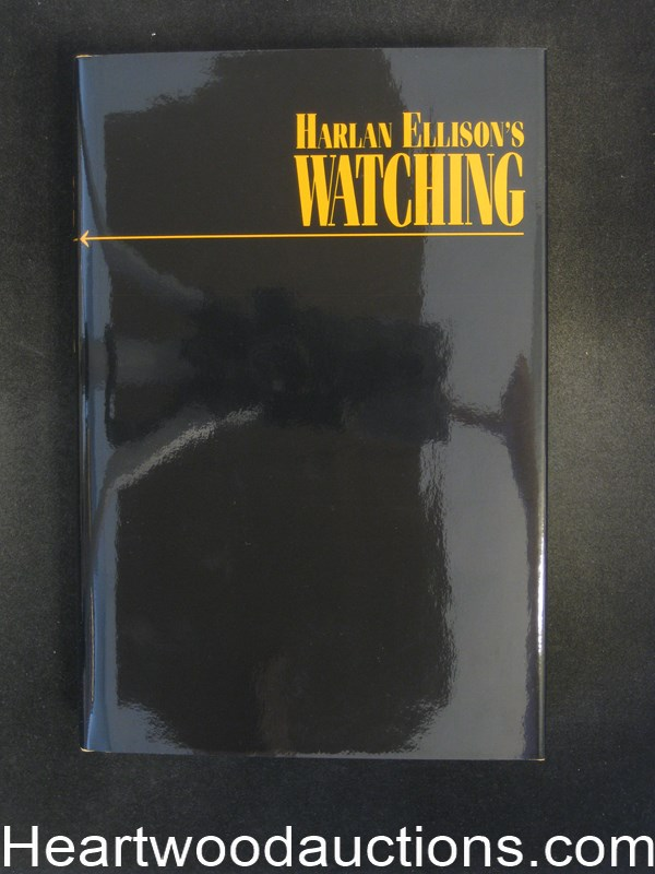 Watching by Harlan Ellison Signed Limited