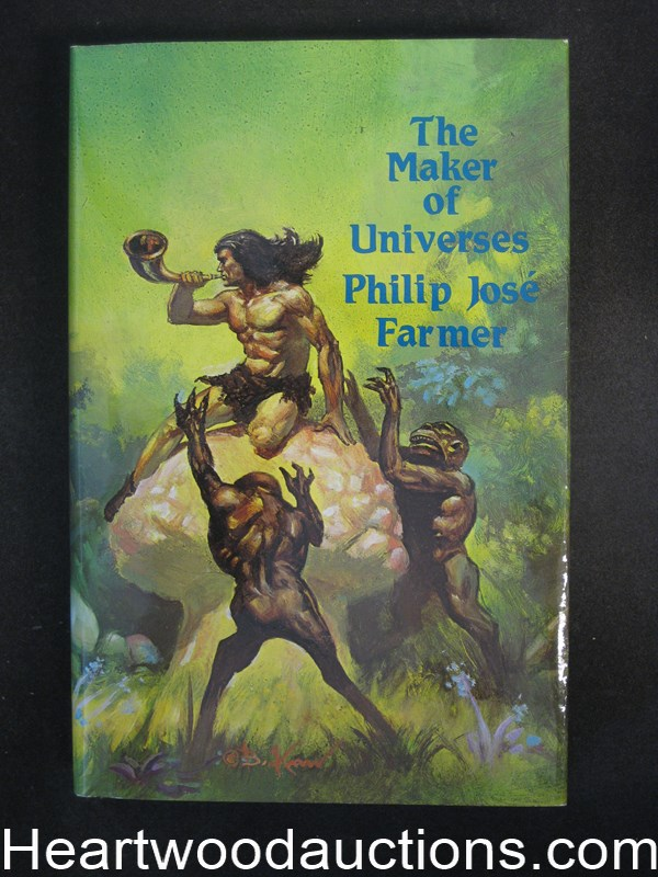 The Maker of Universes by Philip Jose Farmer Signed Limited
