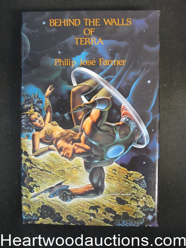 Behind the Walls of Terra by Philip Jose Farmer Signed Limited