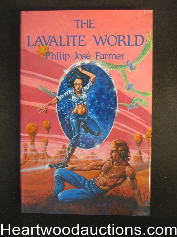 The Lavalite World by Philip Jose Farmer Signed Limited