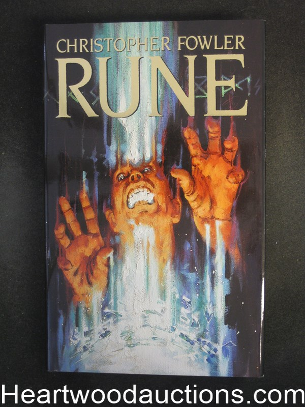 Rune by Christopher  Fowler Signed