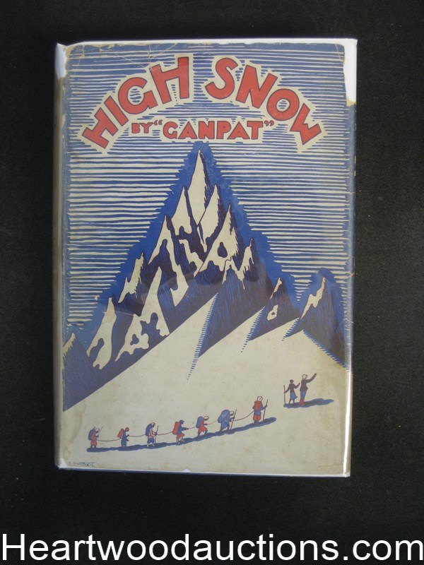 High Snow by pseudonym of Martin L. Gompertz Ganpat