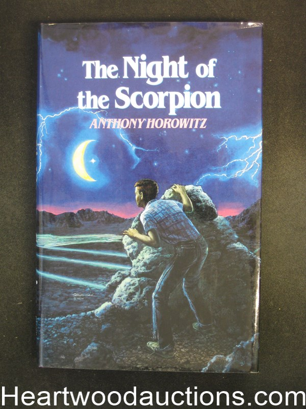The Night of the Scorpion by Anthony Horowitz- High Grade